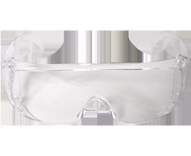 Vuurwerkcheck veiligheidsbril